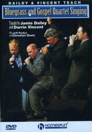 Dailey & Vincent teach - Bluegrass and Gospel Quartet Singing