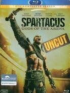 Spartacus: Gods of the Arena - Die komplette Season (2011) (Uncut, 3 Blu-ray)