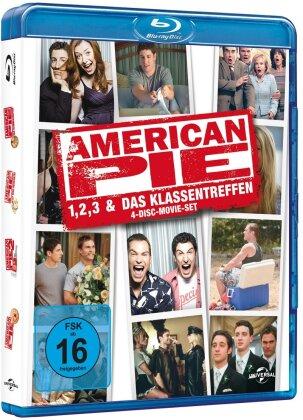 American Pie 1-3 & Das Klassentreffen (Limited Edition, 4 Blu-rays)