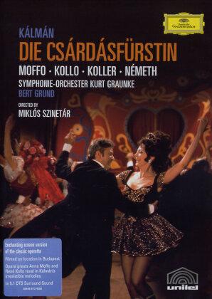 Symphony Orchestra Kurt Graunke, Bert Grund, … - Kalman - Die Csárdásfürstin (Deutsche Grammophon)