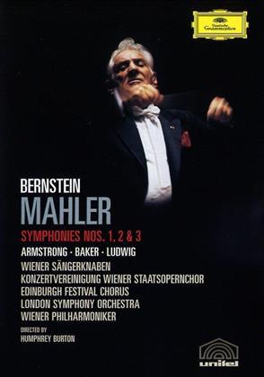 Wiener Philharmoniker & Leonard Bernstein (1918-1990) - Mahler - Symphonies Nos. 1, 2 & 3