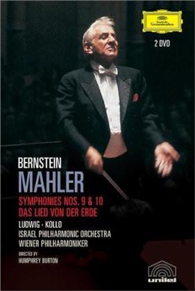 Leonard Bernstein (1918-1990) - Mahler - Symphonies Nos. 9 & 10 (2 DVDs)