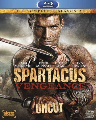 Spartacus: Vengeance - Staffel 2 (Uncut, 4 Blu-rays)