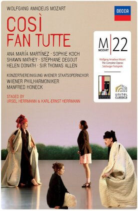 Wiener Philharmoniker, Manfred Honeck, … - Mozart - Così fan tutte (Decca, Salzburger Festspiele)