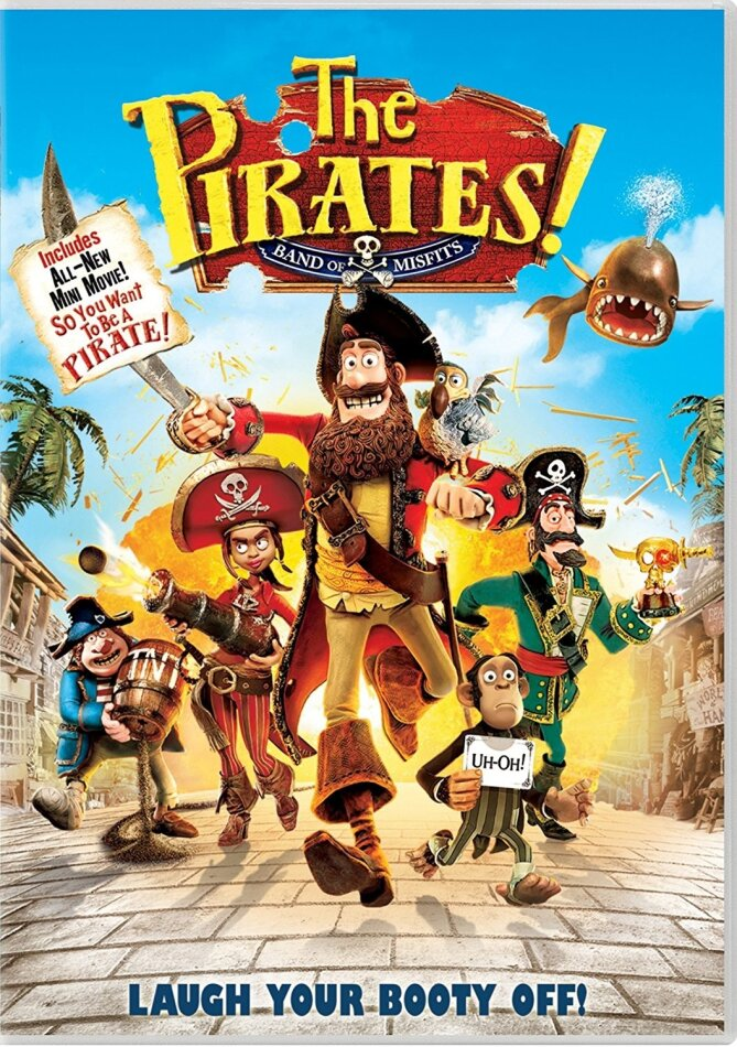 The Pirates! - Band of Misfits (2012)