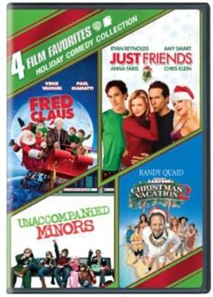 Holiday Comedy Collection - 4 Film Favorites (4 DVDs)