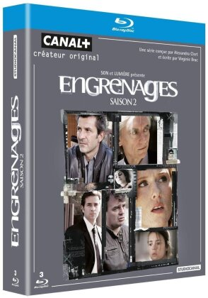 Engrenages - Saison 2 (3 Blu-rays)