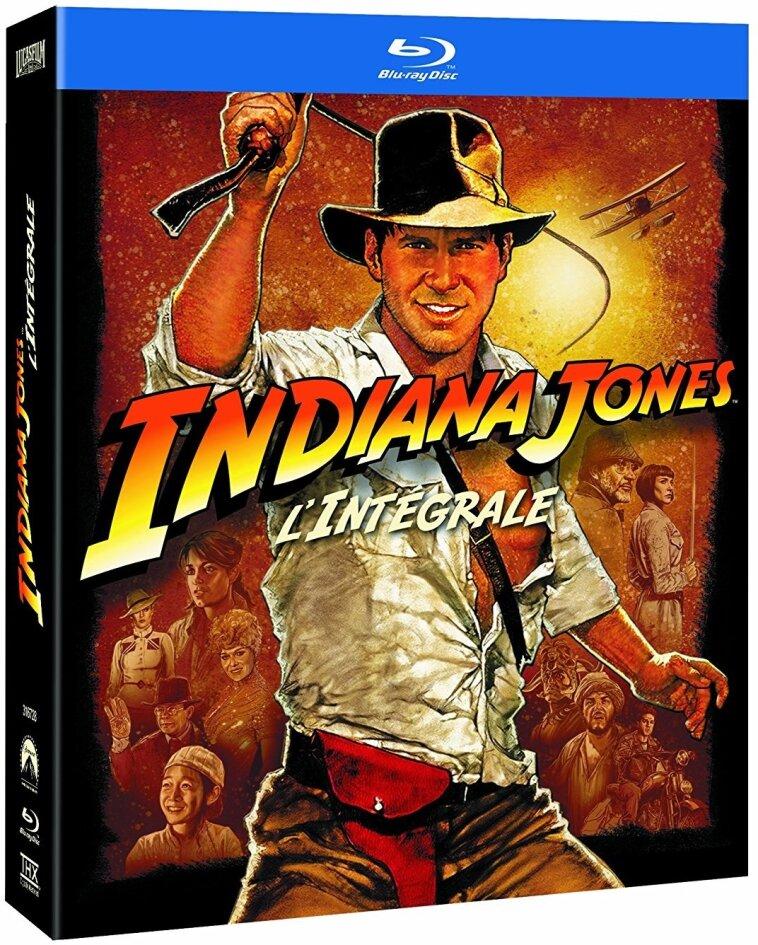 Indiana Jones - L'Intégrale (Remastered, 5 Blu-rays)