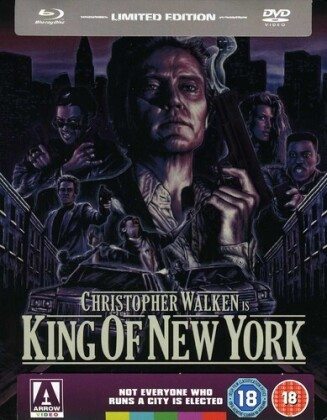 King Of New York - King Of New York (1990) (1990) (Limited Edition, Steelbook, Blu-ray + DVD)