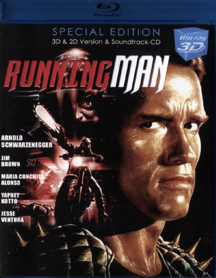 The Running Man - (Real 3D & 2D + Soundtrack) (1987)