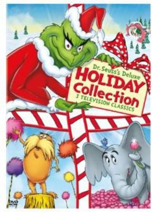 Dr. Seuss's Deluxe Holiday Collection (Deluxe Edition, 3 DVDs)