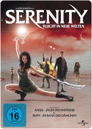 Serenity - Flucht in neue Welten (2005) (Steelbook)