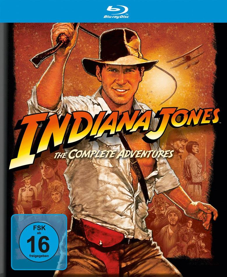 Indiana Jones - The Complete Adventures (5 Blu-ray)