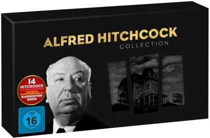 Alfred Hitchcock Collection (Limited Edition, 14 DVDs)