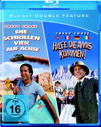Die schrillen Vier auf Achse / Hilfe, die Amis kommen! (2 Blu-rays)