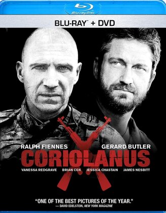 Coriolanus (2011) (Blu-ray + DVD)