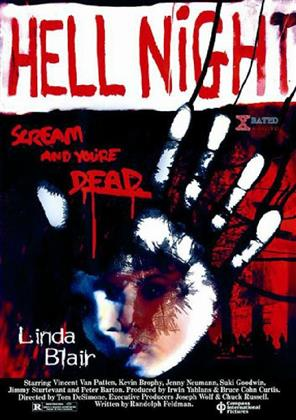 Hell Night (1981) (Kleine Hartbox, Uncut)
