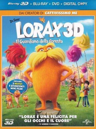 Lorax - Il guardiano della foresta (2012) (Blu-ray 3D (+2D) + DVD)