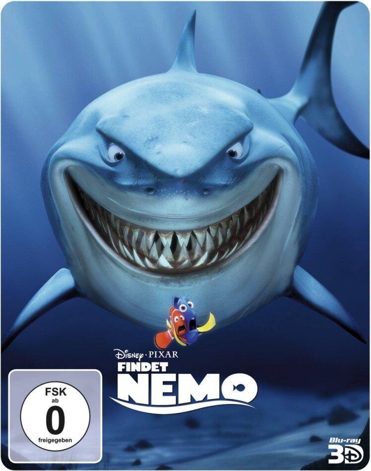 Findet Nemo (2003) (Steelbook, Blu-ray 3D + Blu-ray)