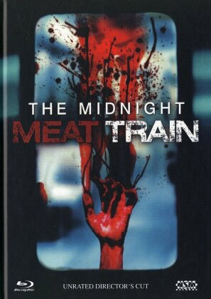 The Midnight Meat Train (2008) (Director's Cut, Unrated, Blu-ray + DVD)