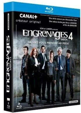 Engrenages - Saison 4 (3 Blu-rays)