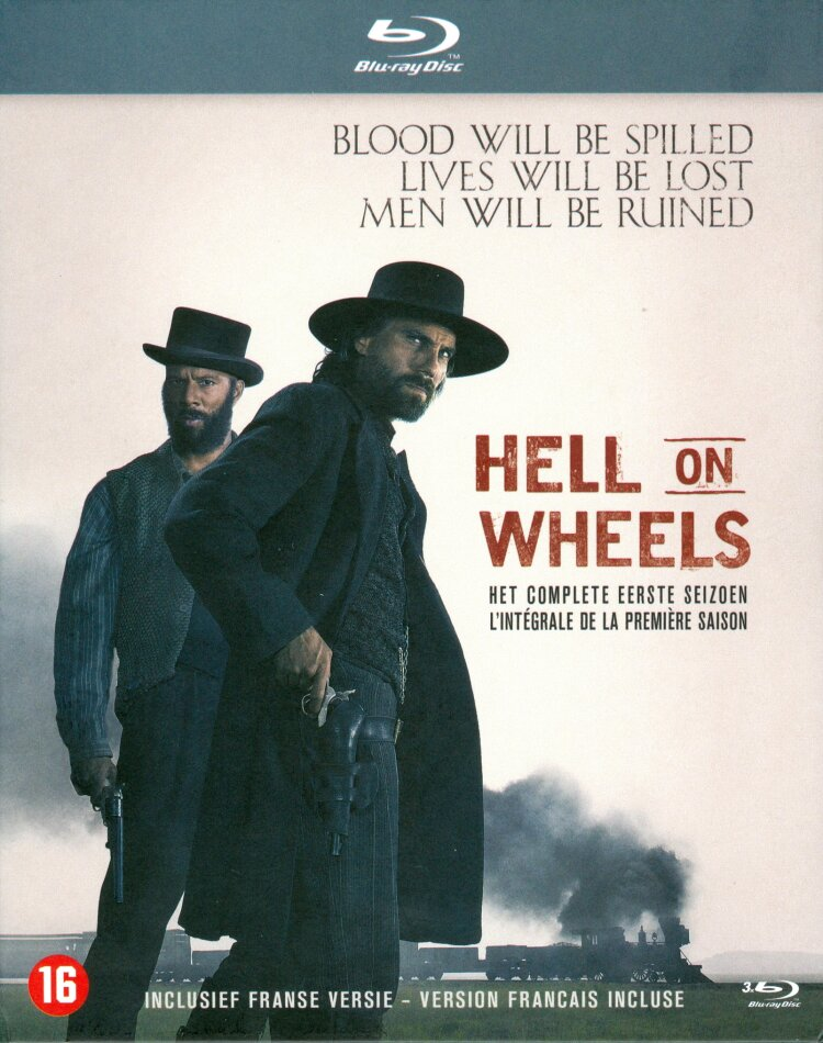 Hell on Wheels - Saison 1 (3 Blu-rays)