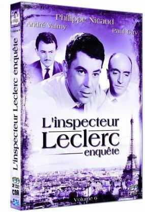 L'Inspecteur Leclerc enquête - Vol. 6 (s/w, 2 DVDs)