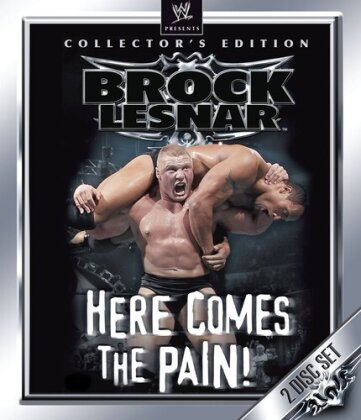 WWE: Brock Lesnar - Here Comes the Pain (Collector's Edition, 2 Blu-ray)