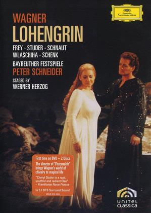 Bayreuther Festspiele Orchestra, Peter Schneider, … - Wagner - Lohengrin (Deutsche Grammophon, Unitel Classica, Bayreuther Festspiele, 2 DVDs)