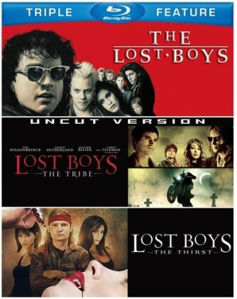 The Lost Boys / Lost Boys: The Tribe / Lost Boys: The Thirst - (Triple Feature 3 Discs)