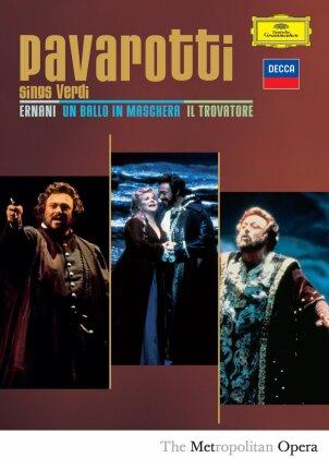 Metropolitan Opera Orchestra, … - Sings Verdi (Decca, Deutsche Grammophon, 3 DVDs)