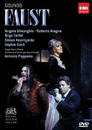Orchestra of the Royal Opera House, Antonio Pappano, … - Gounod - Faust (2 DVDs)