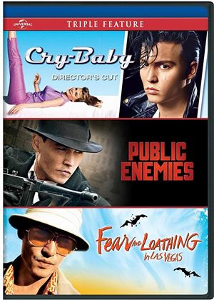 Cry Baby / Public Enemies / Fear and Loathing in Las Vegas (3 DVDs)