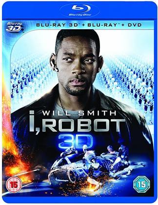 I, Robot (2004) (Blu-ray 3D (+2D) + DVD)
