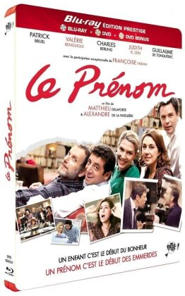 Le Prénom (2012) (Deluxe Edition, Blu-ray + 2 DVDs)