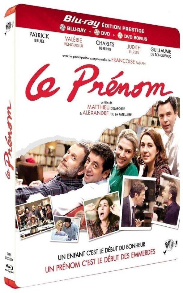 Le Prénom (2012) (Deluxe Edition, Blu-ray + 2 DVDs)