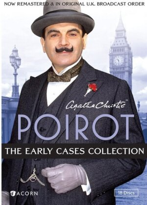 Agatha Christie's Poirot - The Early Cases Collection (Collector's Edition, 18 DVDs)