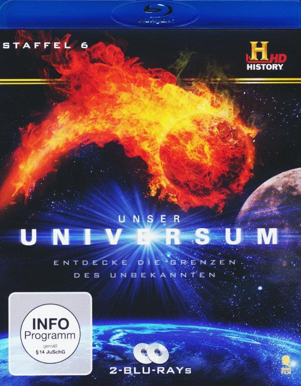 Unser Universum - Staffel 6 (2 Blu-rays)