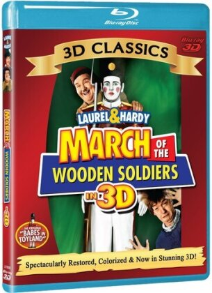 Laurel & Hardy - March of the Wooden Soldiers 3D (1934)