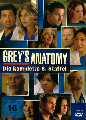 Grey's Anatomy - Staffel 8 (6 DVDs)