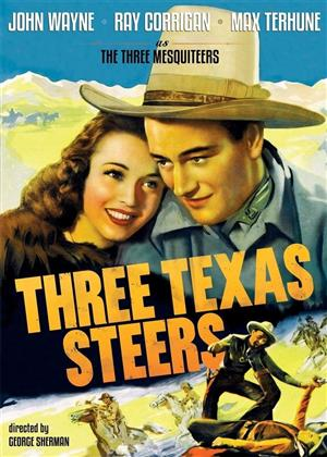 Three Texas Steers (1939) (s/w, Remastered)