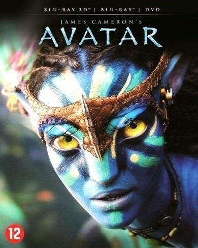 Avatar (2009) (Blu-ray 3D + Blu-ray + DVD)