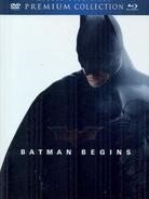 Batman Begins (2005) (Premium Edition, Blu-ray + 2 DVDs)