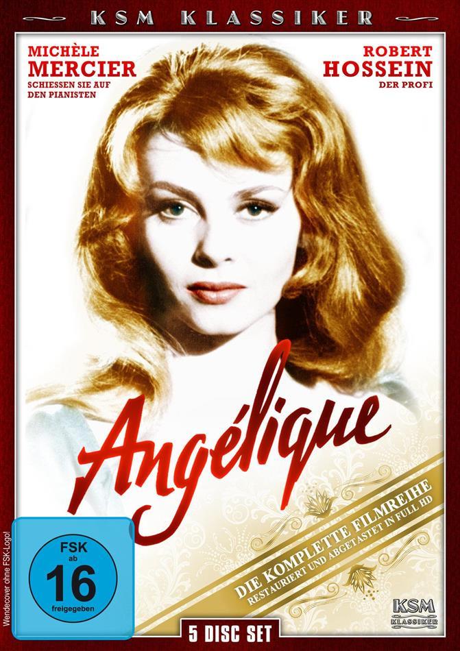 Angélique - Die komplette Filmreihe (KSM Klassiker, 5 DVD)