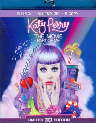 Katy Perry - The Movie - Part of me (Edizione Limitata, Blu-ray 3D + Blu-ray)