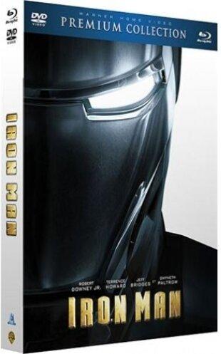 Iron Man (2008) (Premium Edition, Blu-ray + DVD)