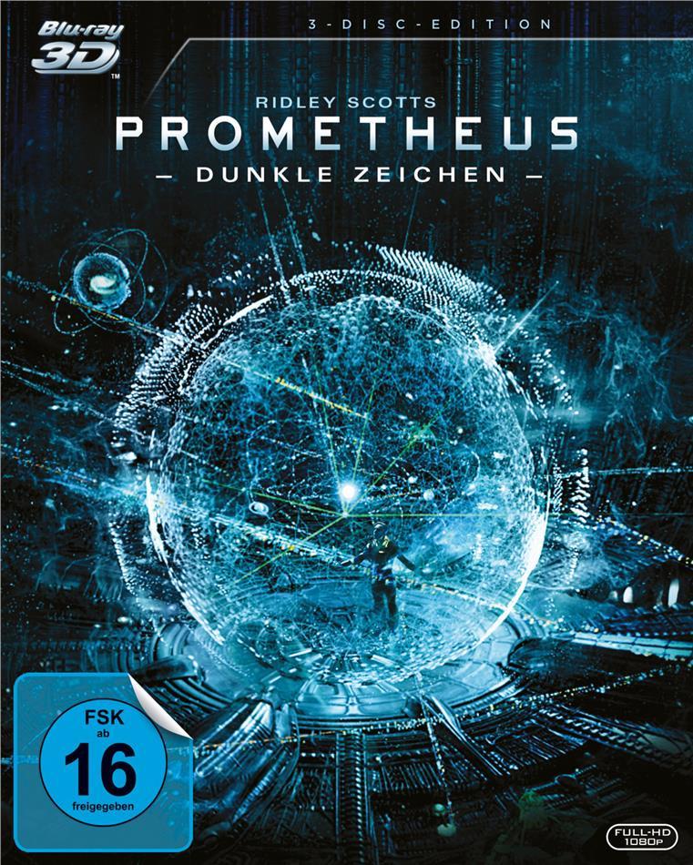Prometheus - Dunkle Zeichen (2012) (3 Blu-ray 3D (+2D) + DVD)