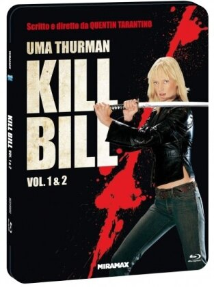 Kill Bill - Vol. 1 & 2 (Limited Edition, Steelbook, 2 Blu-rays)