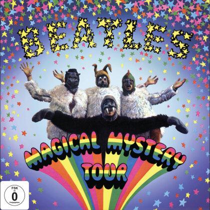"The Beatles - Magical Mystery Tour (DVD + Blu-ray + 2x 7"" Vinyls)"