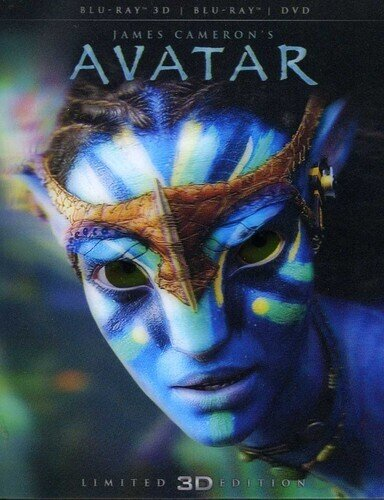 Avatar (2009) (Limited Edition, Blu-ray 3D (+2D) + DVD)